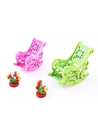 3D Ahşap Maket Sallanan Koltuk Takımı-Learning Toys